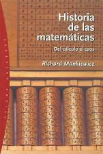 Historia de las matematicas The Story of Mathematics: Del Calculo Al C-ExLibrary