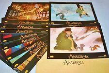 ANASTASIA  ! Don Bluth jeu 10 photos cinema lobby cards animation