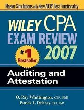 NEW - Wiley CPA Exam Review 2007 Auditing and Attestation