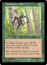 TIMBERWATCH ELF Legions MTG Green Creature — Elf Com