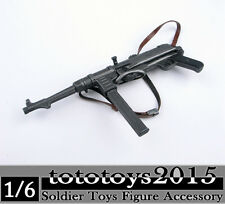 Dragon DML Toys 1/6 Scale Weapon Model WWII Germany MP40 Submachine Gun Figure