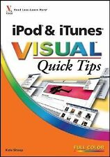 G, iPod & iTunes VISUAL Quick Tips, Shoup, Kate, 0470180129, Book