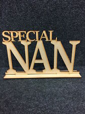 3mm MDF Special Nan including Stand