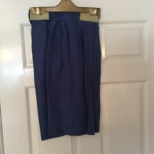 Pure Silk ladies Blue Shorts Brand New in original packaging Size 10/12