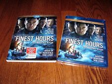 Disney The Finest Hours  (Blu Ray + Digital HD) New; Slipcover & I Ship Faster