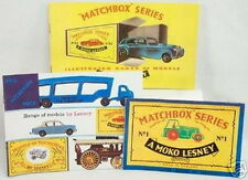 DTE EXCLUSIVE SET OF 3 1957-58-59 MATCHBOX REPRODUCTION CATALOGS
