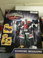 Brand New Power Rangers SPD Supreme SWAT Megazord