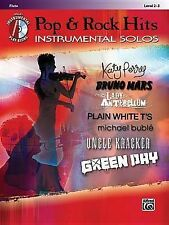 Pop & Rock Hits Instrumental Solos, Flute  : Level 2-3 by Alfred Publishing...