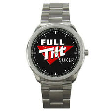 FULL TILT POKER WATCH FIT FOR YOUR HOODIE HAT & T SHIRT