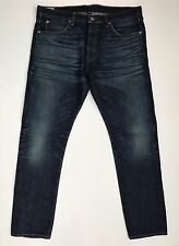 $298 WALLACE BARNES FOR J.CREW SLIM SELVEDGE JEAN IN RIVERLAND WASH 36X32 C9378