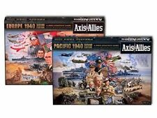Axis & Allies Europe 1940 + Pacific 1940 game bundle (New)