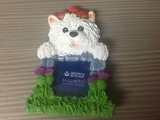 Fridge magnet photo frame with a Scottish flavour