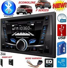 98-08 FORD MERCURY BLUETOOTH CD USB AUX Car Radio Stereo Double Din Installation