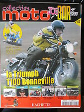FASCICULE JOE BAR TEAM 47 TRIUMPH T100 BONNEVILLE 2007 GUZZI YAMAHA 1100 BULLDOG