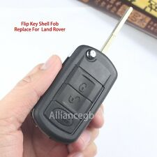 Flip Key Shell Case Fob For LAND ROVER Range Rover Sport LR3 Discovery 3 Buttons