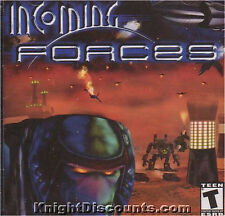 INCOMING FORCES Space Sim PC Game NEW Sealed Win95-XP