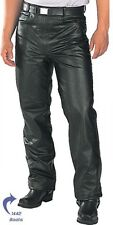 Classic Fitted (biker motorcycle or Casual) Men's Leather Pants 30