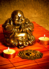 3D Lenticular Postcard - Buddha - Greeting Card