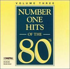 NUMBER ONE HITS OF THE 80'S CD VOLUME THREE BRAND NEW SEALED