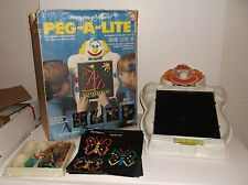 Vintage 1977 Peg a Lite Light bright