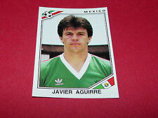 JAVIER AGUIRRE MEXIQUE RECUPERATION PANINI FOOTBALL MEXICO 86 WM 1986