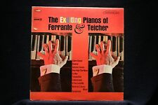 FERRANTE & TEICHER-Exciting Pianos-Easy Space Piano Classic on Near Mt Vinyl LP
