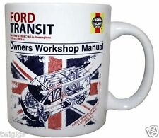 NEW Haynes Ford Transit Van Ceramic Retro Mug - Great Fathers Day Gift for Dad!