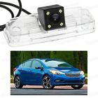 4 LED Car Rear View Camera Reverse Backup CCD Fit for Kia Forte Sedan 2014-2016