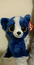 "Ty Beanie Boo - 2014 - T-Bone the Dog - Gift Show Exclusive - 6"" - New with Tags"