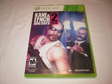 Kane & Lynch 2: Dog Days (Microsoft Xbox 360) Original Release Complete Nr Mint!