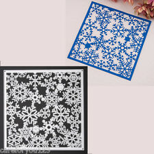 Metal Snowflak Christmas Cutting Dies Stencils DIY Scrapbooking Album Paper Card