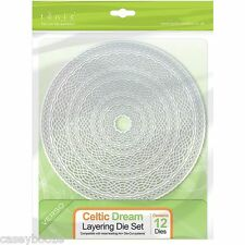 Tonic Studios Die Cutting Stencil -Celtic Dream Circle Layering Set -209E 5% OFF
