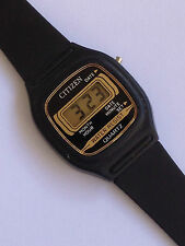 citizen vintage watch orologio lady digital digitale UHR reloj stock ST1336 DE