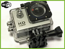 Pro HD Waterproof WIFI Sports Action Cam Camera 1080P LCD Screen 170 Wide Angle