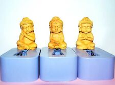Silicone Soap lotion bar Mold Chinese sitting Buddha easy release Homemade