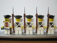 Lego PIRATES NAPOLEONIC WARS AUSTRIAN Infantry Soldiers MINIFIGS