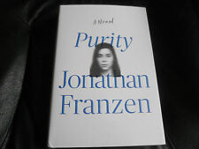 JONATHAN FRANZEN SIGNED - PURITY - First Printing Hardcover NEW 2015