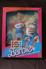 Mattel PEPSI SPIRIT BARBIE (1989) NRFB #4869 (7R)