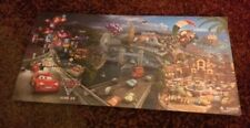 Disney Cars 2 Poster And Puzzle Advertising