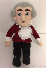 "Little Thinkers MOZART Wind-Up Classical Musical 12"" Doll Plush 2005 Stuffed Toy"