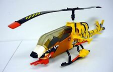 GI JOE TIGER FORCE TIGER FLY Vintage Helicopter NEAR COMPLETE & WORKS 1988