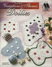 Variations & Themes Doilies Michelle Crean Crochet Pattern Instruction 1997 NEW
