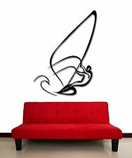 Wall Stickers Vinyl Decal Sail Yacht Sport Water Extreme Sport Freedom (z2024)