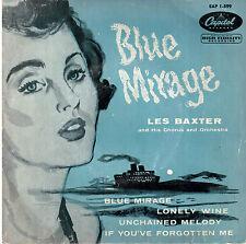 45T EP: les Baxter: blue mirage + 3 titres. capitol