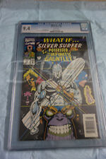 WHAT IF.? #49 SILVER SURFER POSSESSED THE INFINITY GUANTLET CGC GRADED 9.4 WHT P