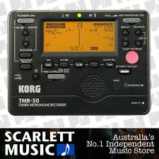 Korg TMR50 Combo Digital Guitar Tuner Metronome TMR-50 w/Recorder - 44% off.