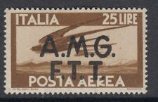 TRIESTE : 1949 AIR 25L yellow-brown SG 22 mint