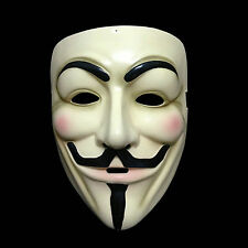 Halloween Cosplay v pour vendetta masque Guy Fawkes ANONYME COSTUME ROBE FANTAISIE