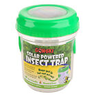 Mosquito Trap Lamp Solar Powered LED Light Insect Zapper Killer