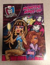 Monster High Activity Book Stickers Monster Make-up 2015 NEW